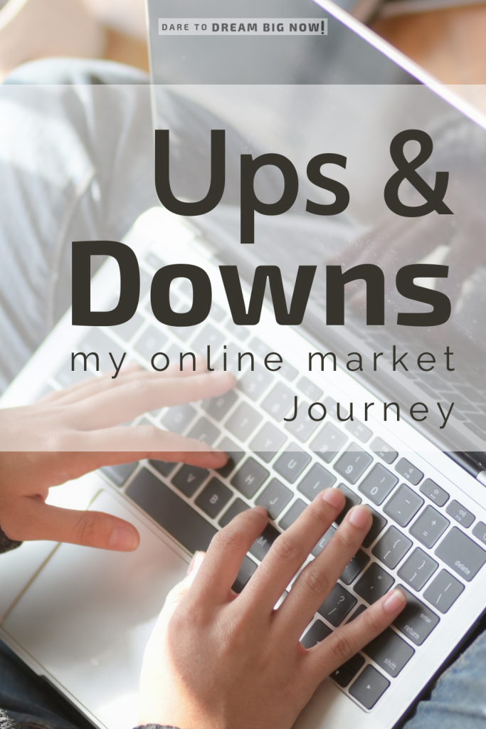 The ups and downs of an online marketing journey