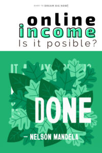 is online income posible
