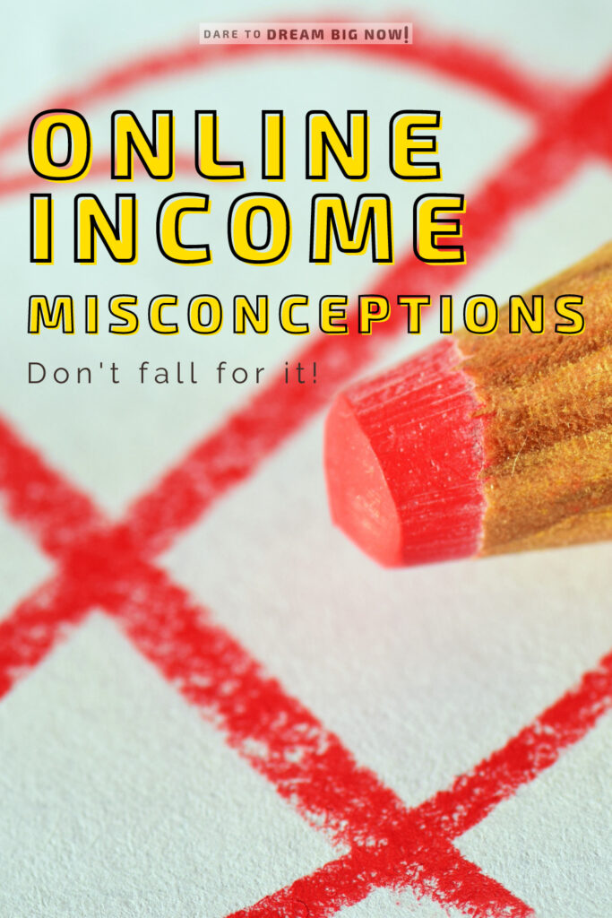 online income misconceptions